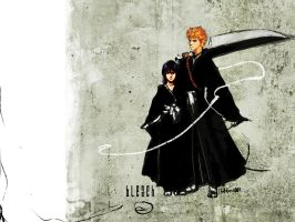 Bleach fanart by Hellstern