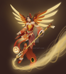 Zhu Que Mercy by slim58