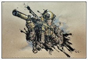 Tactical Ink by MarcWasHere