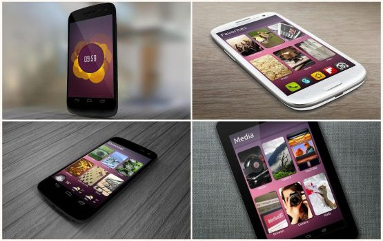 Ubuntu Theme for Android by bagarwa