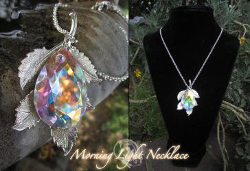Morning Light Necklace by Firefly-Path