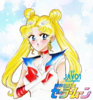 Usagi - Sailor moon by zelldinchit