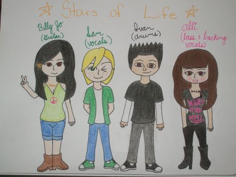 Stars of Life :P by Sparks-Fly13