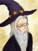Dumbledore by katessence