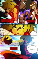 KUNG FU SWAGGA! 1 Preview Pg 8 by King-Taurus