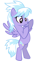 Cloudchaser Standing by CultLeaderFluttershy
