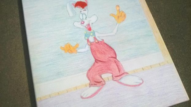 Roger Rabbit 1 of 2 by RicCasino