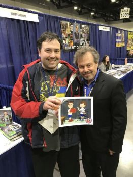 Me and Curtis Armstrong by Tatsunokoisthebest