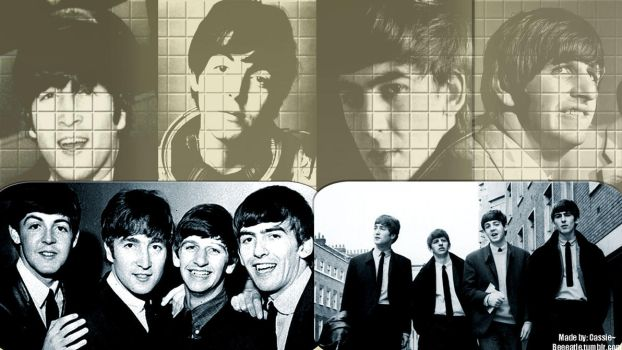 Beatles Wallpaper I by beeeatle