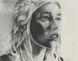 Daenerys Targaryen by Lisa4art