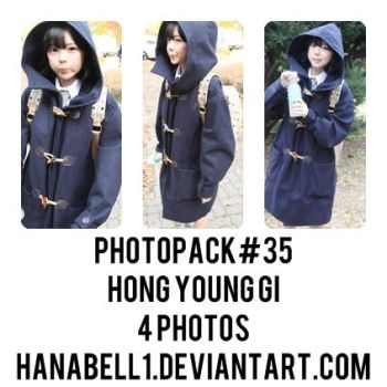 Photopack#35 Hong Young Gi by HanaBell1