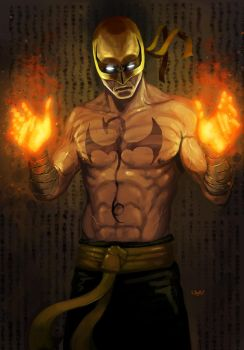 -- Fist of Iron -- by yvanquinet