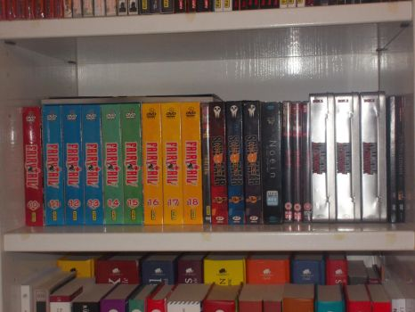 My second anime DVD collection by gekkodimoria