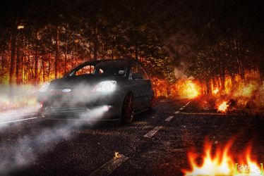 Ford Fiesta ST - End of the World by gavin2610