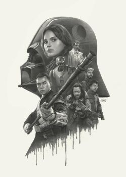Rogue One Art by yinyuming