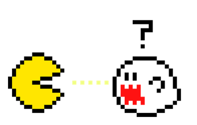 Pac-Man meets Mario by Scruffy4