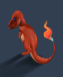 Charmander by Goldenglows