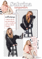 Png Pack 3899 - Sabrina Carpenter by southsidepngs