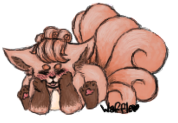 Vulpix by Paigeetheanimelover