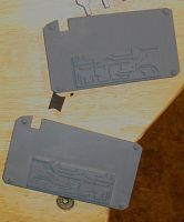 Fallout Red and Blue Keycards WIP by emptysamurai