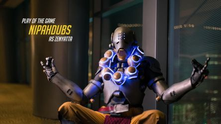 Play of the Game (Zenyatta) - Overwatch Cosplay by NipahCos
