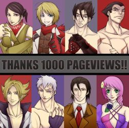 Thanks 1000 Pageview by DANGERAID