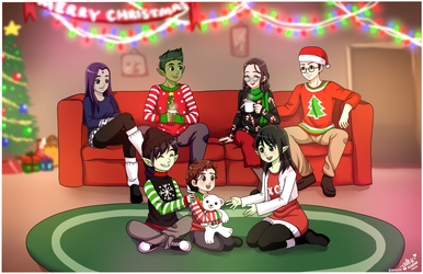 Christmas with the Logans-Commission by shock777