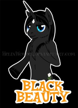 Black Beauty Shirt by HelixWonder
