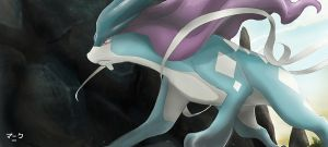 Pokemon: Suicune by mark331