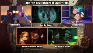 The 5 Best Gravity Falls Episodes **DESCRIPTION** by DCMarvelman