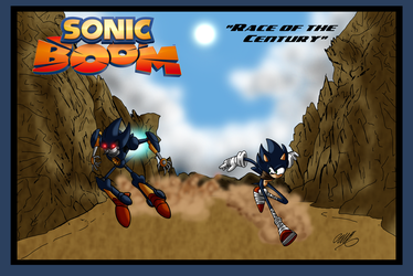 Sonic Boom _ Race of the Century by GearGades