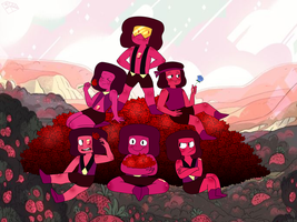 Wake Up and Smell the Rubies by Gem-Jewelz