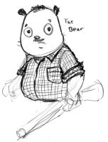 My dad, as a bear. by dromens
