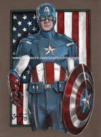AVENGERS CAPTAIN AMERICA (2013) by scotty309