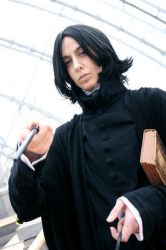 Professor Snape caught you... by Abessinier