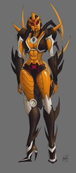 Blackarachnia by KaijuDuke