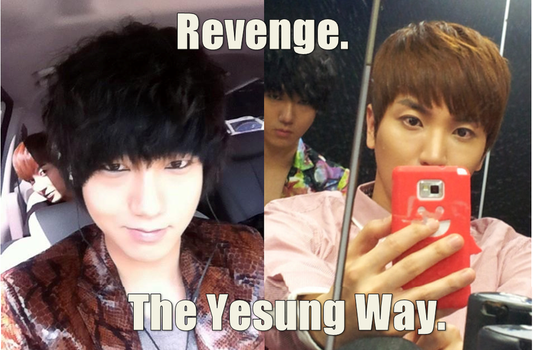 Revenge: The Yesung Way. by nympha-nora