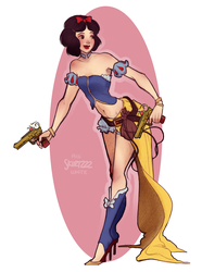 Gunner Snow White by Skirtzzz