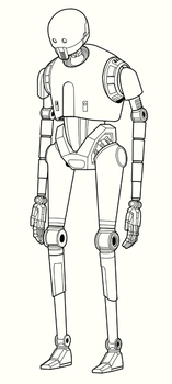 K-2SO Work in Progress by JoeGrafix