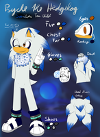 .:Ref:. Psyche the Hedgehog by Fire-For-Battle