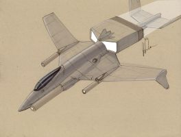 DN Langseax Heavy Ground attack fighter by Jepray