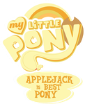 AJ is best pony by thediscorded
