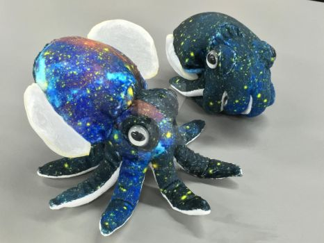 Spacetopus! by plushabilities