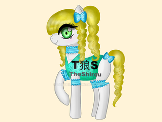 [OPEN] PONY ADOPT - POINTS/PAYPAL by TheShirou