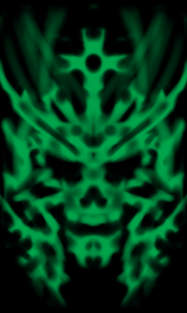Green -( the Hollow faceS ) by gamble216