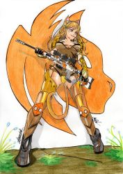 Benea, Sniper Kitty by Griddles