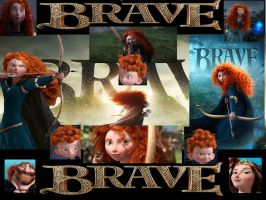 Pixar's Brave Collage by x12Rapunzelx