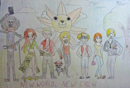 one piece-new crew, new world by cactus-M