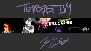 {Art Trade} pt 2: Jewell's Channel Art~~ by IsoChi