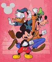 Year 04 - Disney Shorts Series by SuperLeviathan